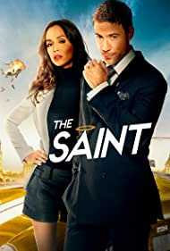 Eliza Dushku and Adam Rayner in The Saint (2017)