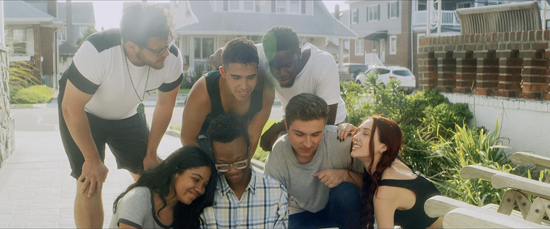 Moses Meads, Silvia Dionicio, Xavier Michael, Phil Blevins, Corynn Treadwell, Kaleal Cerafici, and Cha-tah Ellem in Juvenile Delinquents: New World Order (2020)