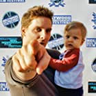 Doug Maguire and son Vincente at the Hollywood Reel Independent Film Festival.
