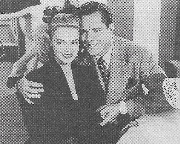 Elyse Knox and Donald Woods in So's Your Uncle (1943)