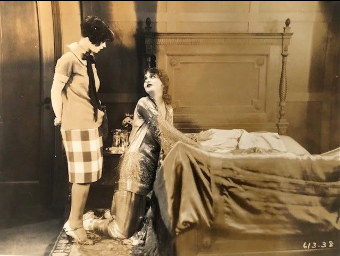 Clara Bow and Natalie Kingston in Kid Boots (1926)