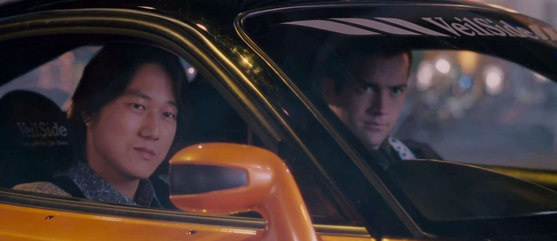 Lucas Black and Sung Kang in The Fast and the Furious: Tokyo Drift (2006)