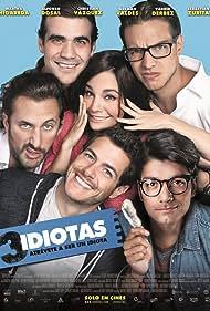 Sebastián Zurita, Vadhir Derbez, Martha Higareda, Alfonso Dosal, German Valdez, and Christian Vazquez in 3 idiotas (2017)