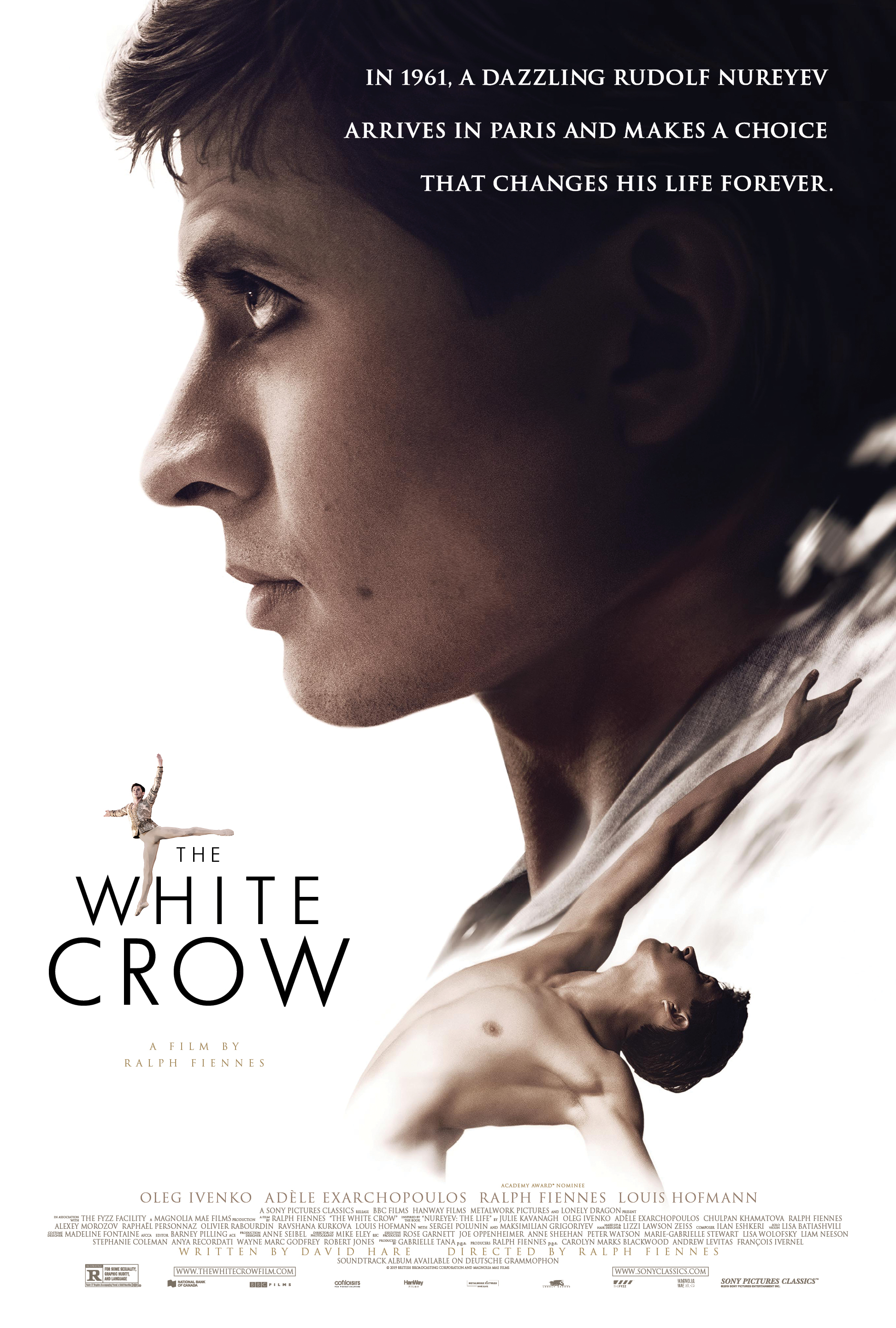 Baltasis varnas (2018) / The White Crow (2018)