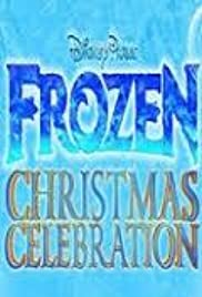 Disney Parks Frozen Christmas Celebration Poster