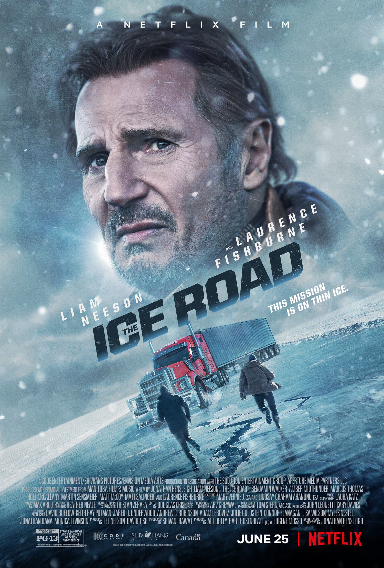 The Ice Road (2021) Bengali Dubbed (Voice Over) WEBRip 720p [Full Movie] 1XBET