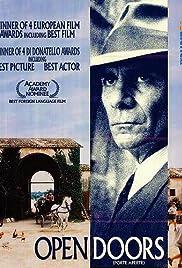 Porte aperte(1990) Poster - Movie Forum, Cast, Reviews