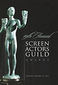 Primary photo for 19th Annual Screen Actors Guild Awards