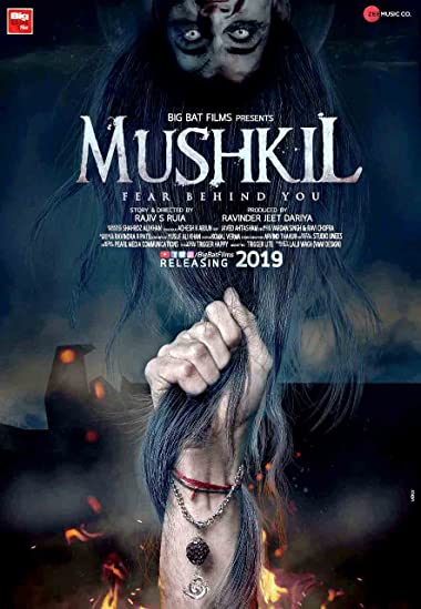 Poster of Mushkil : Fear Behind You 2019 Full Hindi Free Download Watch Online In HD Movie Download 720p HDRip