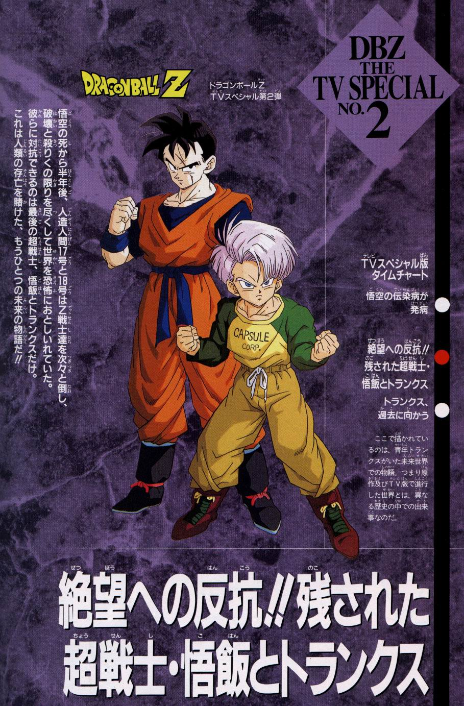 Dragon Ball Z The History Of Trunks Tv Movie 1993 Imdb