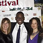 Marian, Patrick and Kate at the world Premiere of Against The Jab