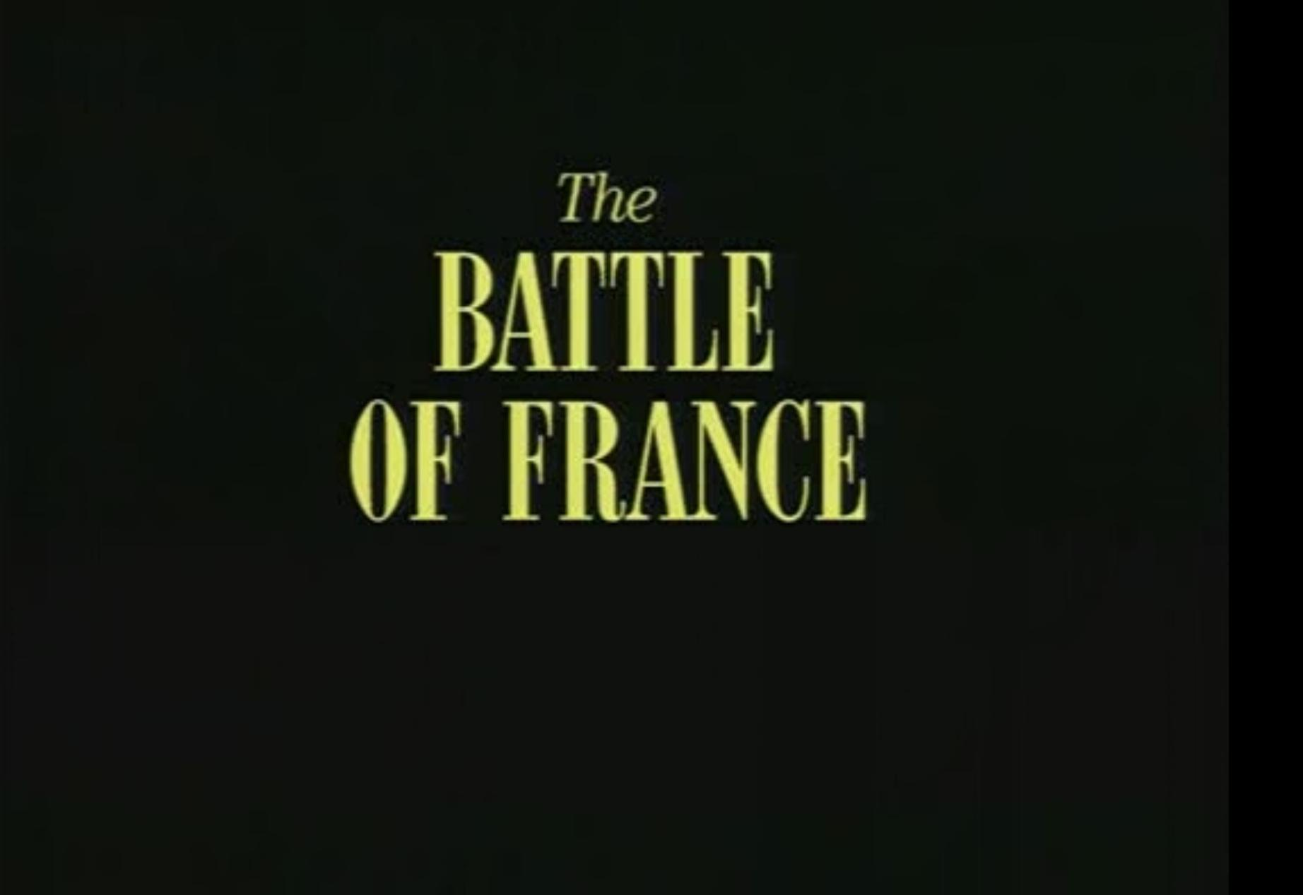 Battlefield  : Documentary (1995) – SE01 EP01 – The Battle of France