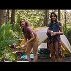 Sadie Calvano and Geraldine Viswanathan in The Package (2018)