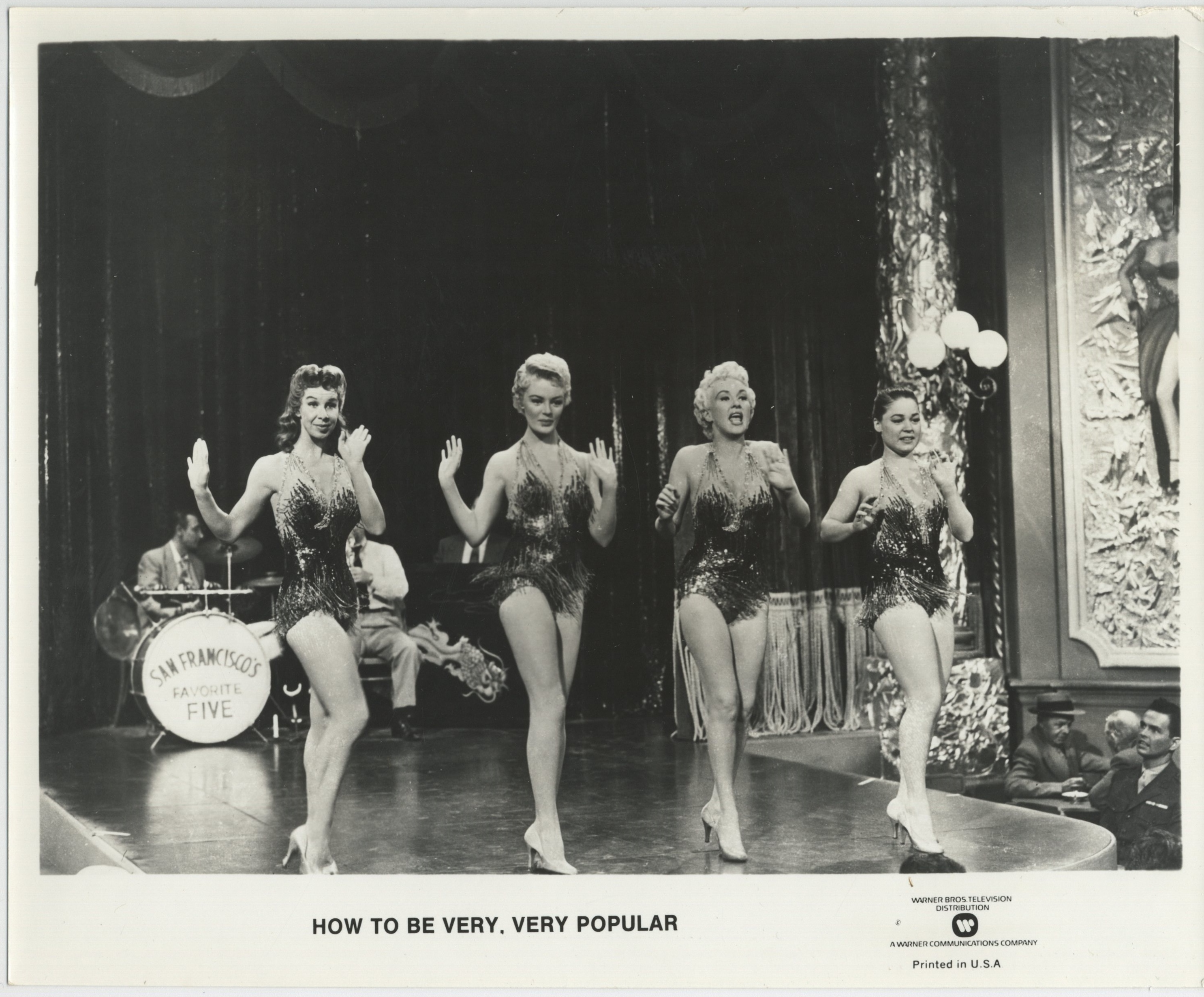 Betty Grable, Janice Carroll, and Sheree North in How to Be Very, Very Popular (1955)