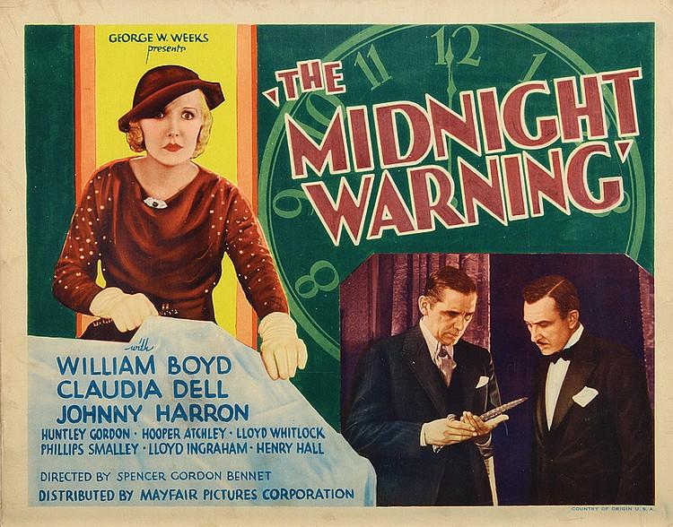 The Midnight Warning (1932) US lobby card