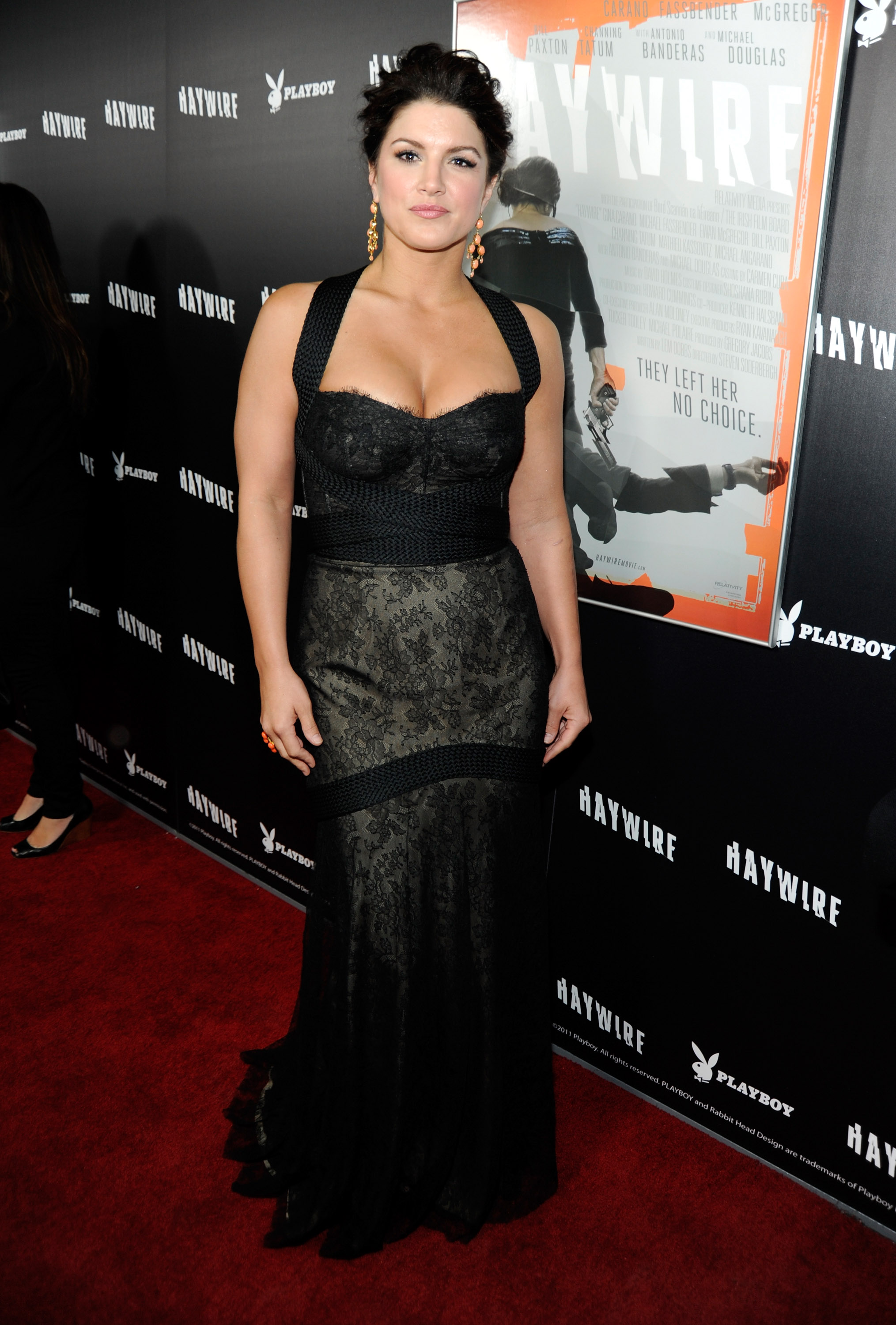 Gina Carano at an event for Haywire (2011)