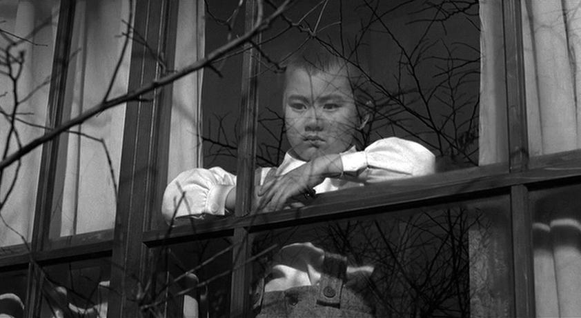 Yuki Nagahara in Mishima: A Life in Four Chapters (1985)