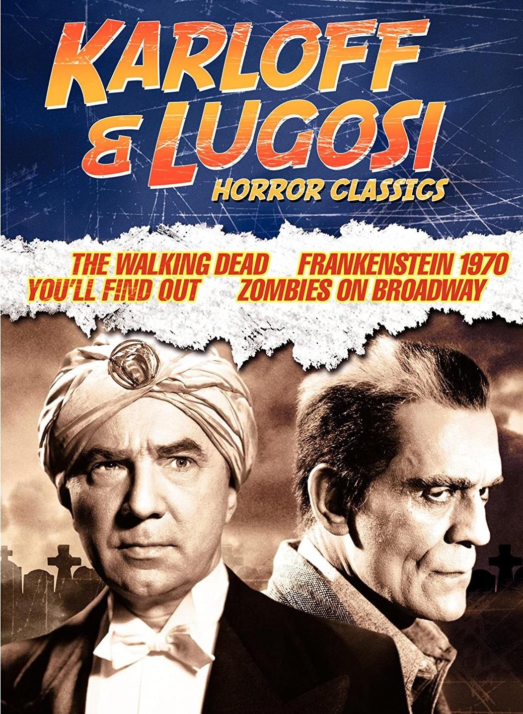 Boris Karloff and Bela Lugosi in The Walking Dead (1936)