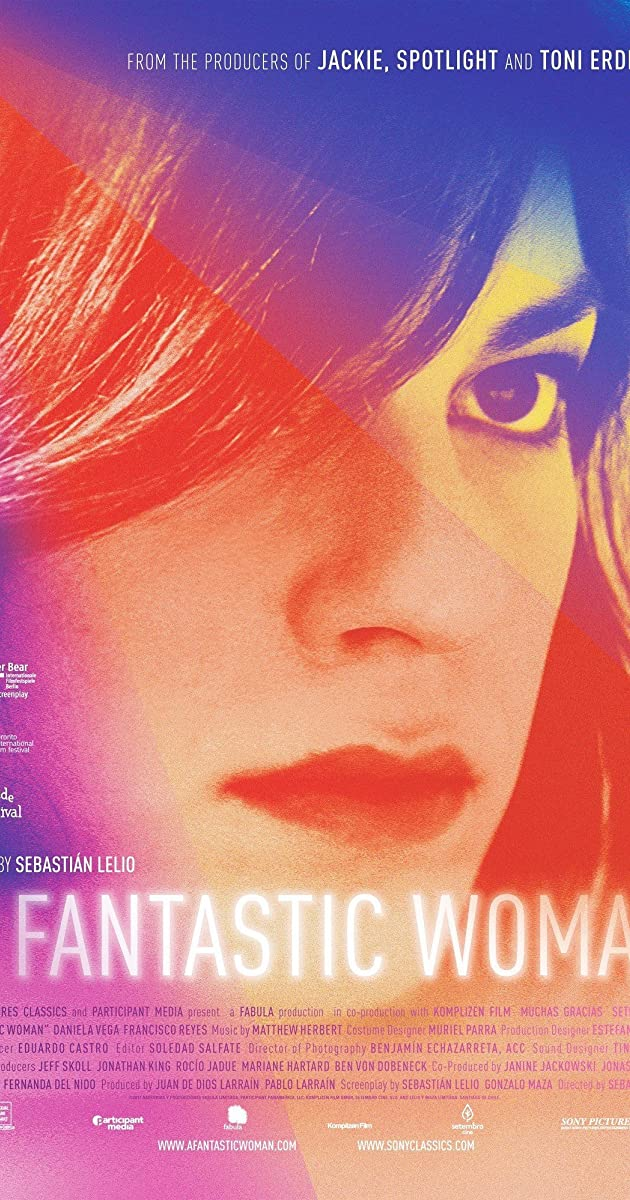 Subtitle of A Fantastic Woman