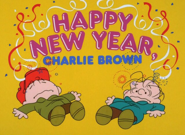 happy new year charlie brown 1986