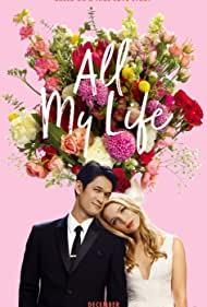 Harry Shum Jr. and Jessica Rothe in All My Life (2020)