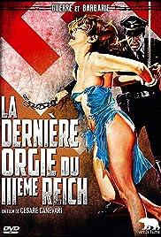 L'ultima orgia del III Reich Poster