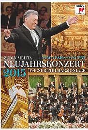 Neujahrskonzert der Wiener Philharmoniker 2015 Poster
