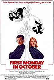 First Monday in October (1981) Poster - Movie Forum, Cast, Reviews