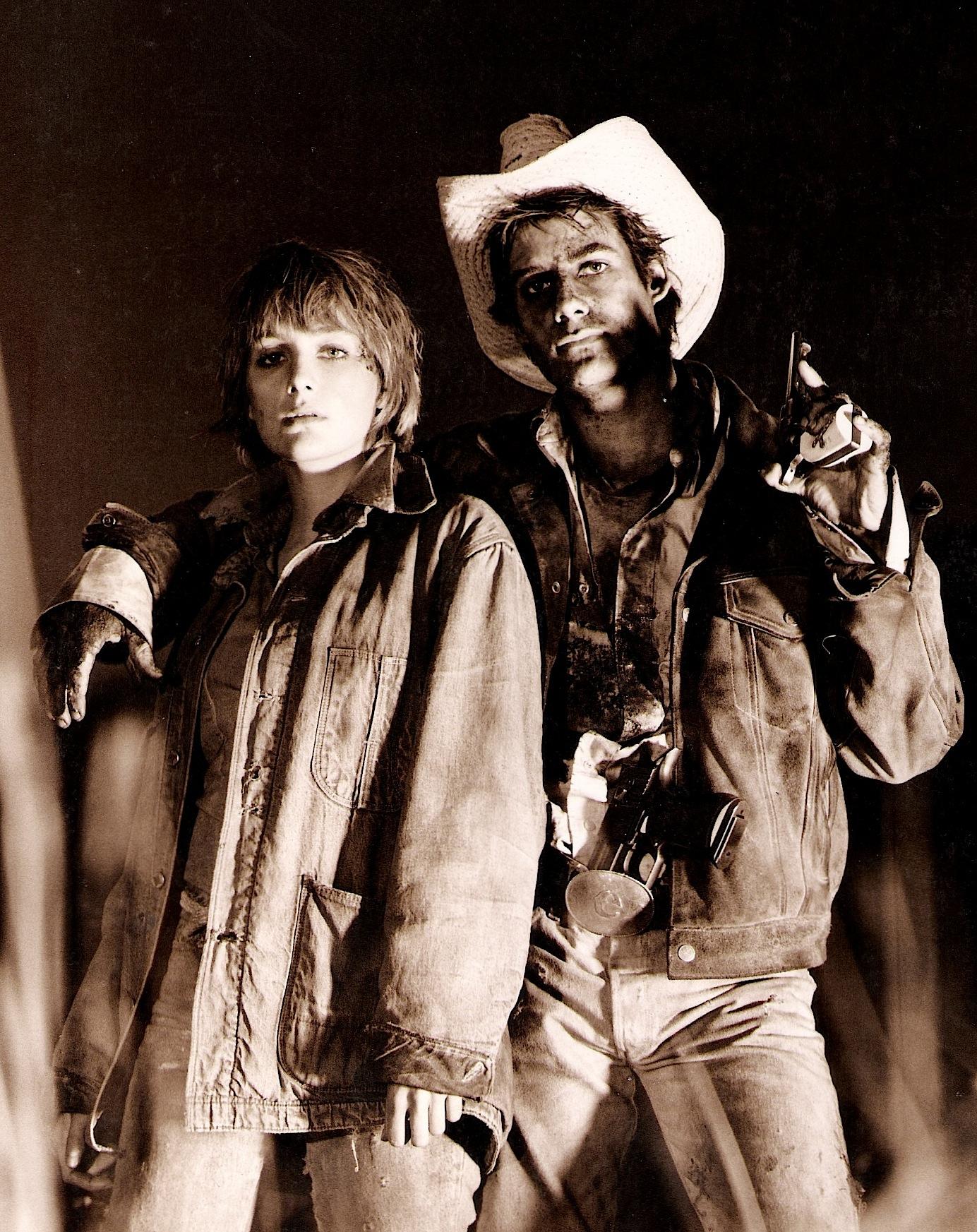 Adrian Pasdar and Jenny Wright in Near Dark (1987)