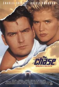 Charlie Sheen and Kristy Swanson in The Chase (1994)