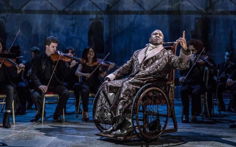 Lucian Msamati in National Theatre Live: Amadeus (2017)