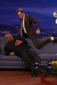 Charles Barkley, Conan O'Brien, Shaquille O'Neal, Ernie Johnson, and Kenny Smith in Conan (2010)