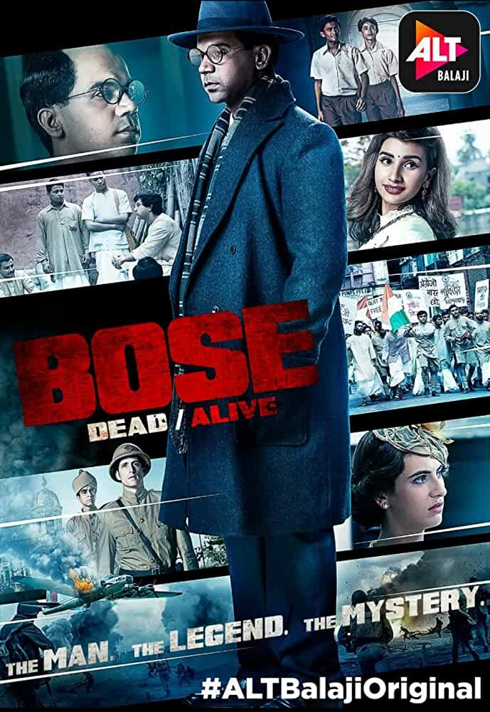 BOSE: DEAD/ALIVE (2017) Season 1 (AltBalaji)