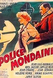 Police mondaine Poster