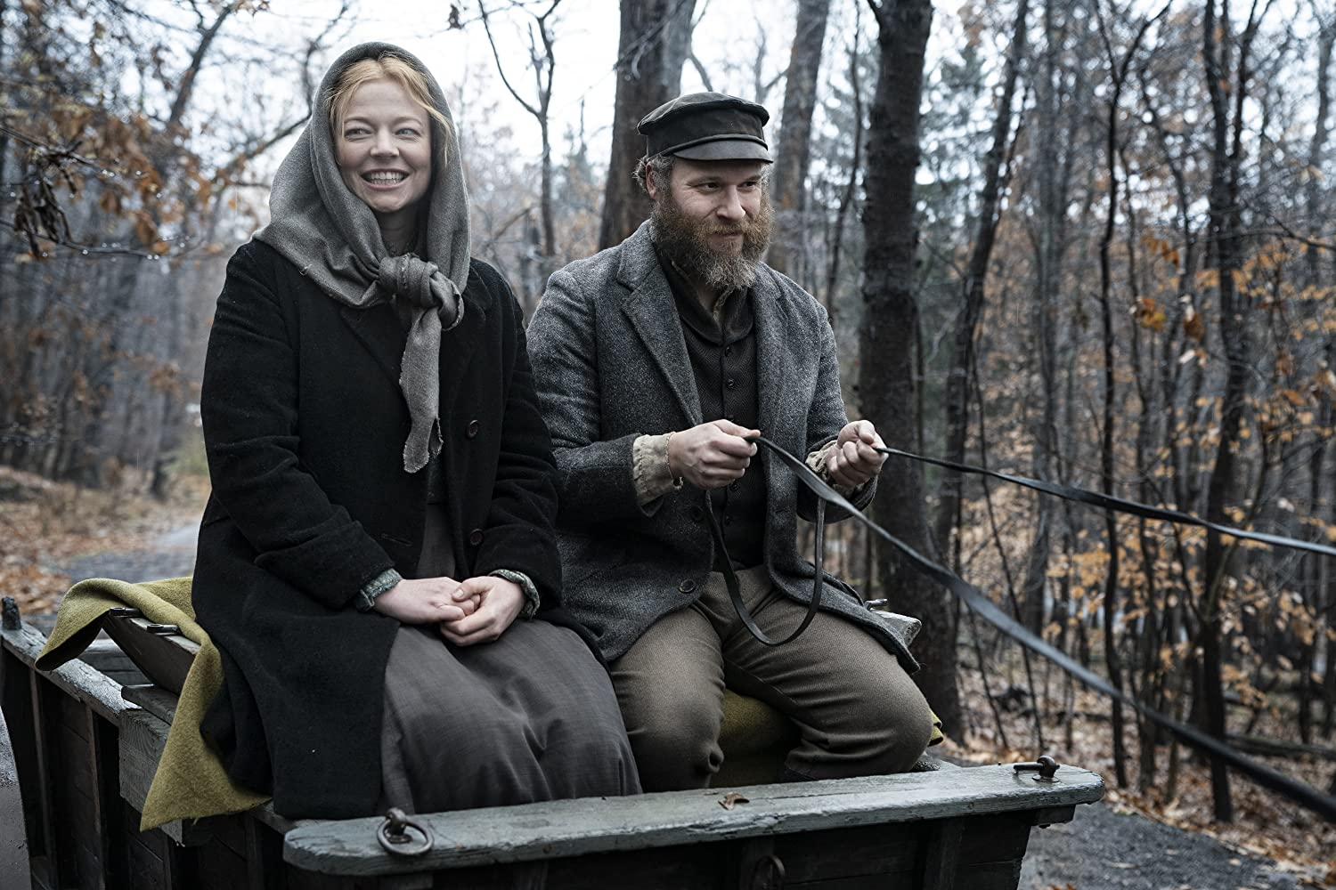 Seth Rogen and Sarah Snook in An American Pickle (2020)