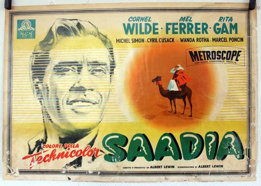 Mel Ferrer in Saadia (1953)