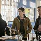 Tom Cavanagh, Grant Gustin, and Carlos Valdes in The Flash (2014)