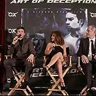 Jonathan S. Abrams, Jackie Nova, Richard Ryan, Alexander Tyson, and Micah Fitzgerald at an event for Art of Deception (2019)
