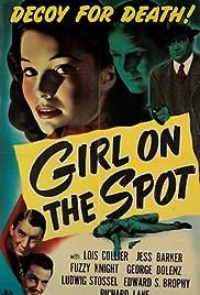 Girl on the Spot Poster