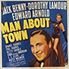Jack Benny and Dorothy Lamour in Man About Town (1939)