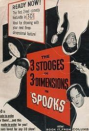 Spooks!(1953) Poster - Movie Forum, Cast, Reviews
