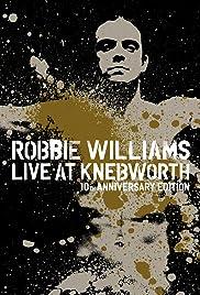Robbie Williams Live at Knebworth Poster