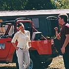 Gabrielle Anwar, Mark Adair-Rios, and Jeff Hare in Flying Virus (2001)