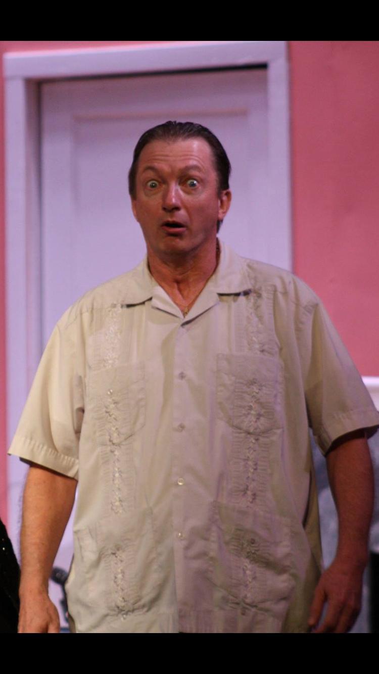 "KB as 'Gil Schmidt' in ""Nana's Naughty Knickers."""