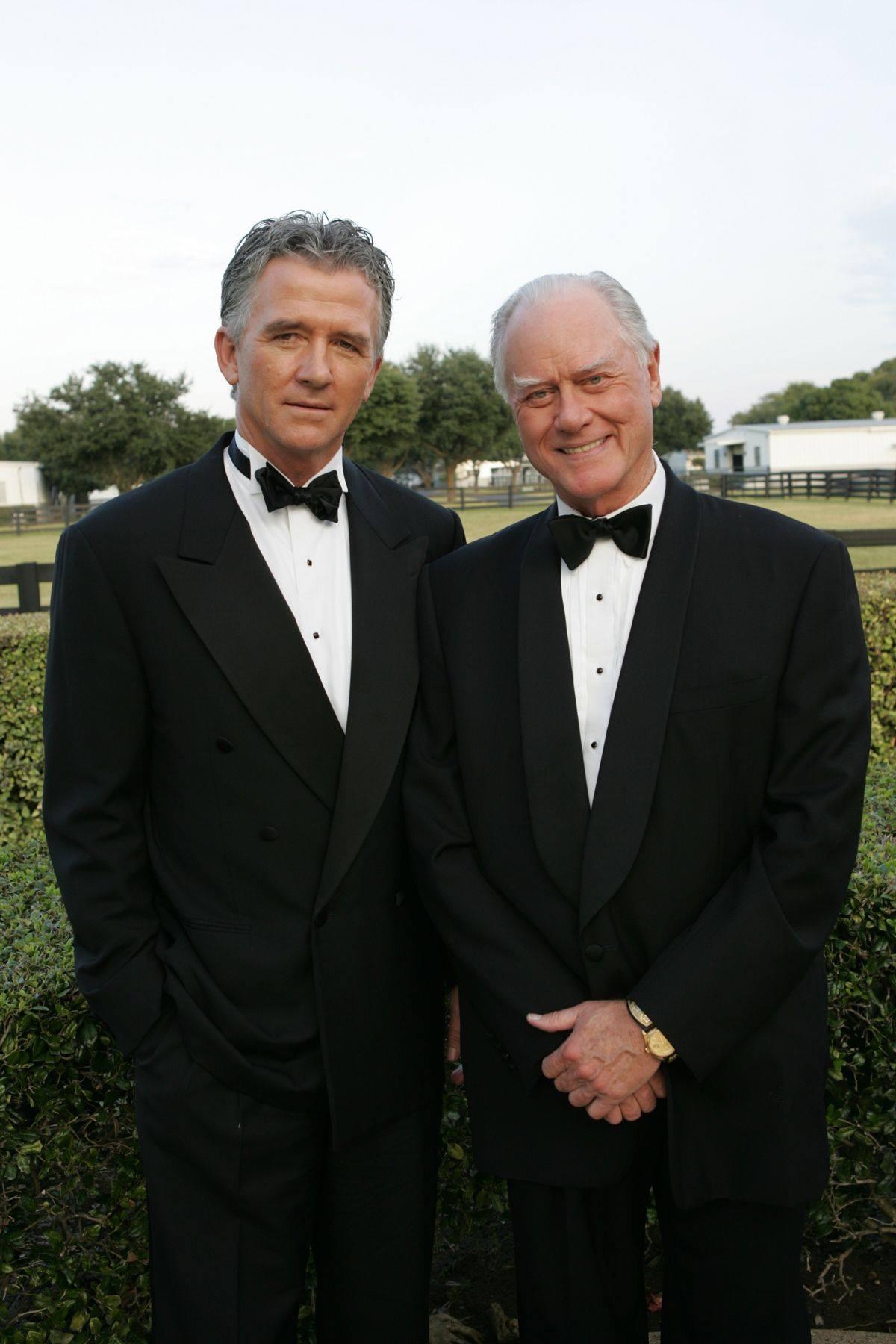 Patrick Duffy and Larry Hagman in Dallas Reunion: Return to Southfork (2004)