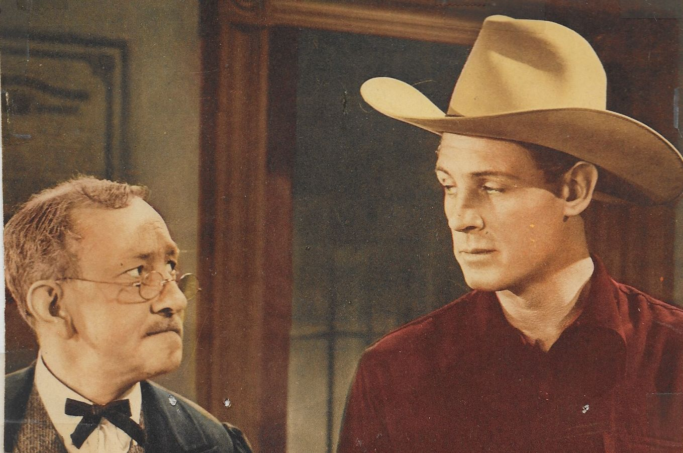 Robert Livingston and Emmett Lynn in The Laramie Trail (1944)