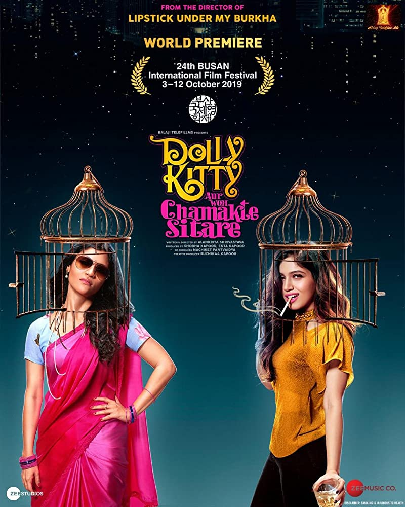 18+ Dolly Kitty Aur Woh Chamakte Sitare (2020) Hindi Movie 480p HDRip ESubs 400MB