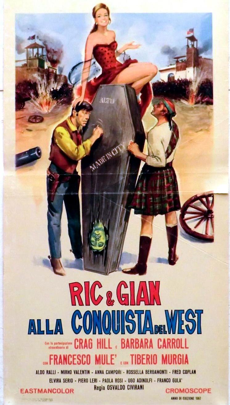 Ric e Gian alla conquista del West (1967)