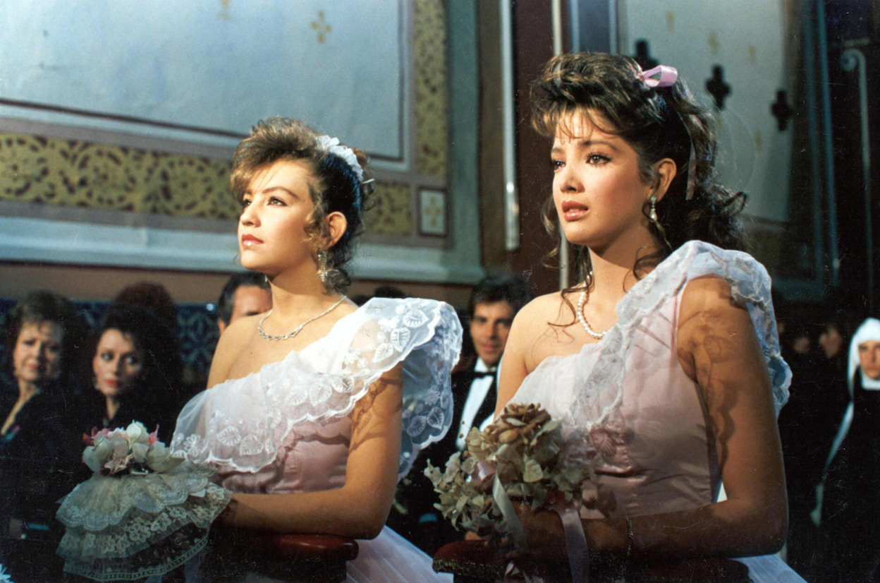 Adela Noriega and Thalía in Quinceañera (1987)