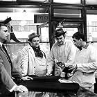 Vlastimil Brodský, Jan Libícek, Jirí Lír, and Jirí Sovák in Svetáci (1969)